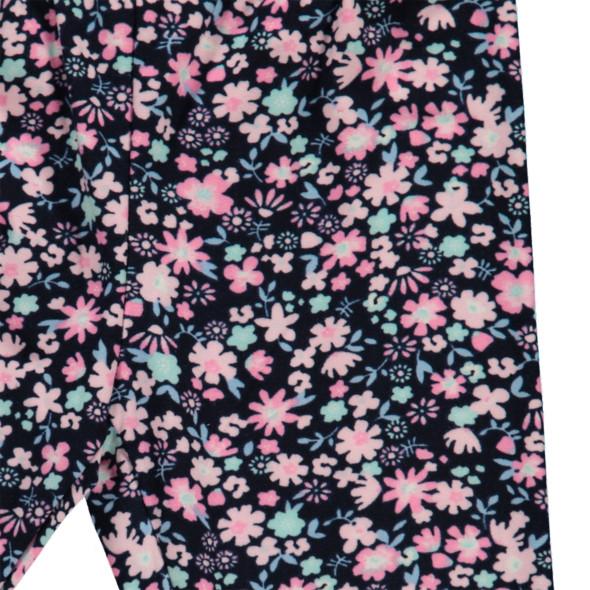 Mädchen Leggings mit Blumenprint