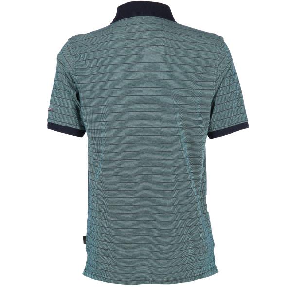 Herren Poloshirt mit hübschem Strickkragen