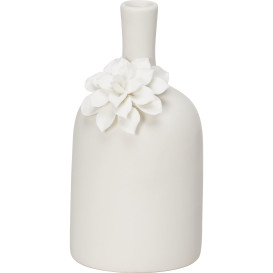 Deko Porzellan Vase 9,5x8,8x17cm