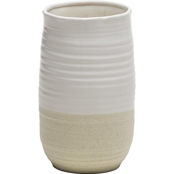 Deko Porzellan Vase 11,8x11,8x19,8cm