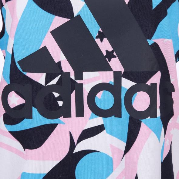 Damen Sporttop mit farbigem Print