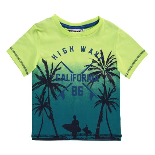 Jungen Shirt mit effektvollem Print
