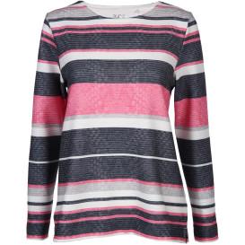 Damen Sweatshirt in Ottoman Rippe