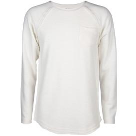 Herren Sweatshirt mit offenen Kanten