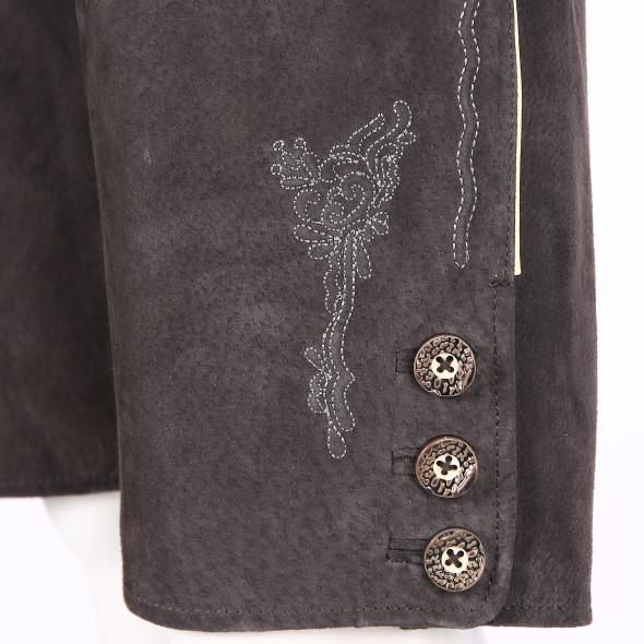 Damen Lederhose mit traditioneller Stickerei