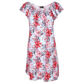 Damen Kleid mit Carmenausschnitt
