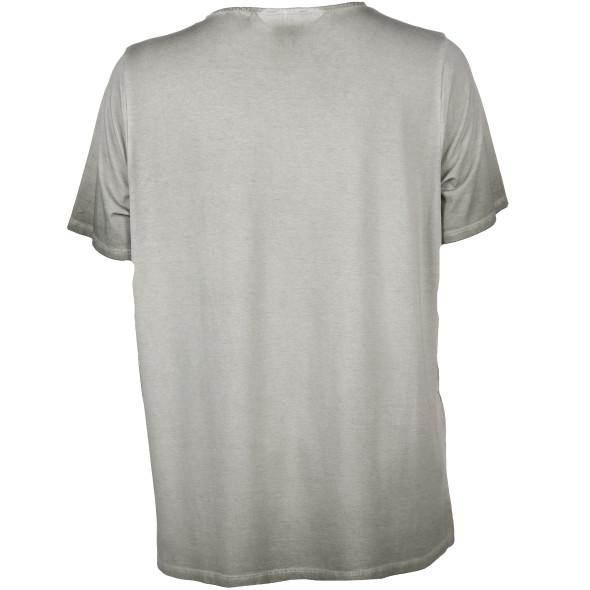 Große Größen Shirt mit Ziernieten