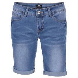Damen Bermuda Jeans mit Aufschlag