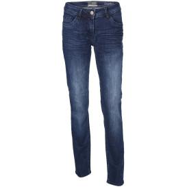 Damen Jeans mit Knitterfalten