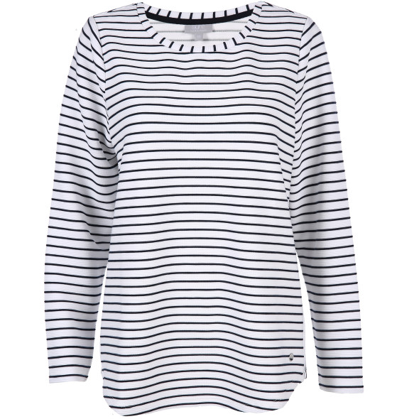 Damen Sweatshirt im Ringellook