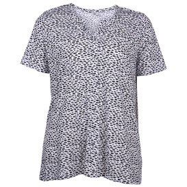 Große Größen Shirt im Minimalprint