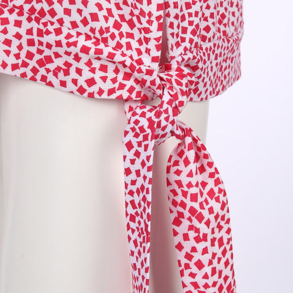 Damen Top mit Knotendetail