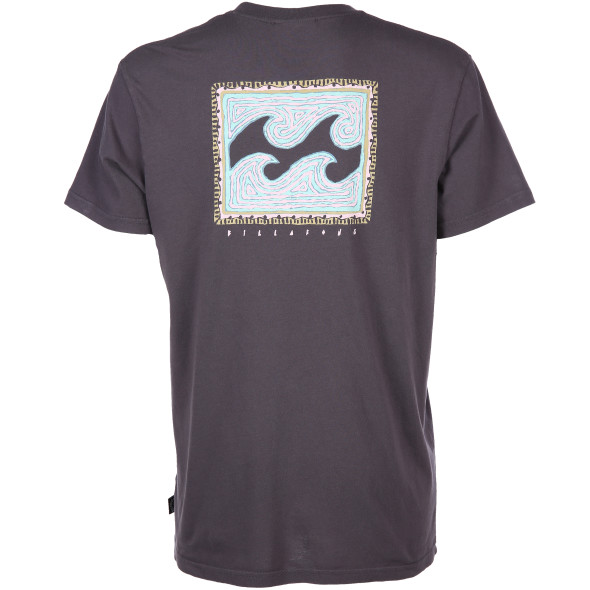 Herren Shirt mit Front-und Rückenprint