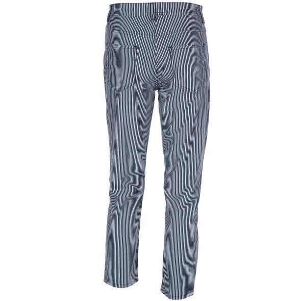 Damen Jeans mit Streifen in 7/8 Länge