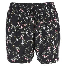 9dcd63da2f9528 Damen Shorts mit Blumendruck