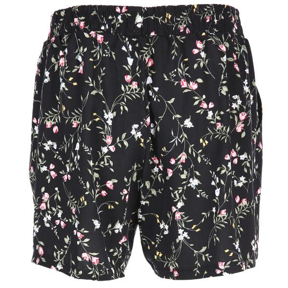 Damen Shorts mit Blumendruck