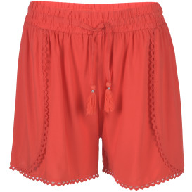 Damen Shorts mit Bordüre