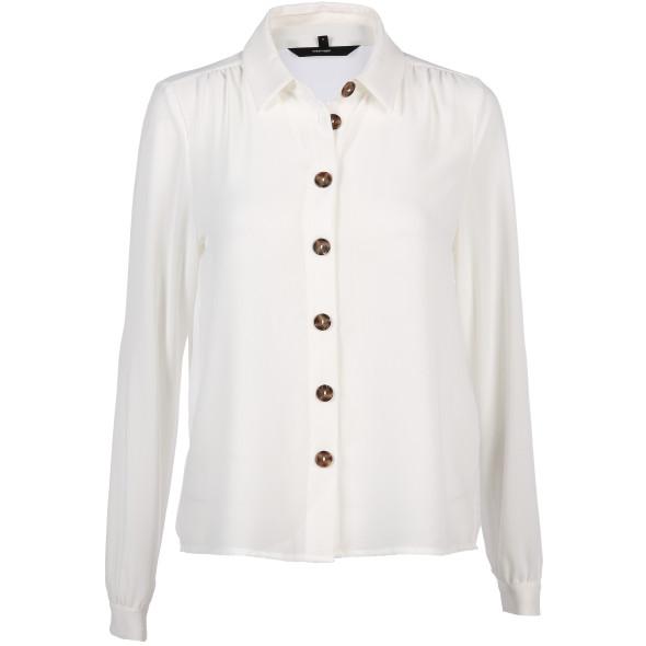 Damen Vero Moda Bluse in transparenter Optik