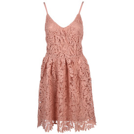 Vero Moda VMLUNA SL ABK DRESS Spitzenkleid