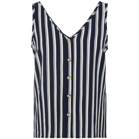 Vero Moda VMSASHA S/L BUTTON TO Top