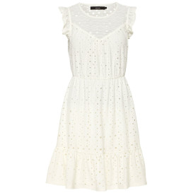 Damen Vero Moda Kleid mit Lochstickerei
