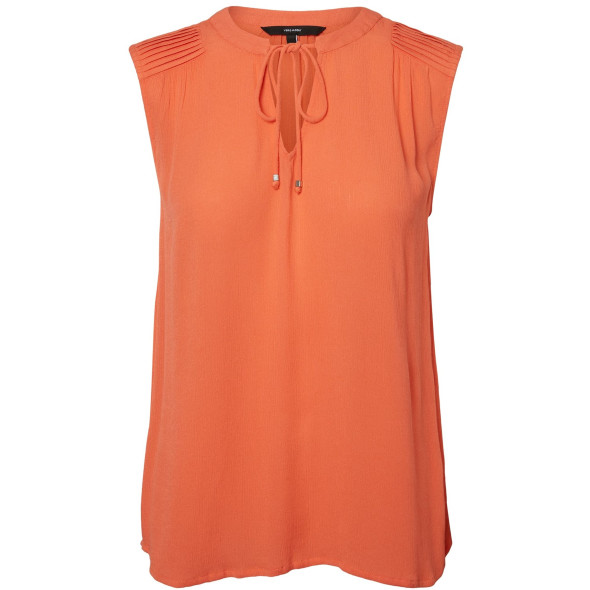 Damen Vero Moda Top mit Bindekordel