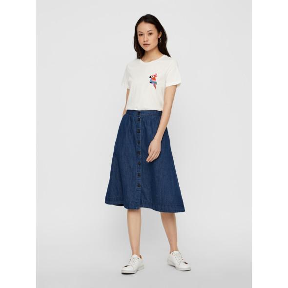 Damen Vero Moda Shirt mit kleiner Stickerei