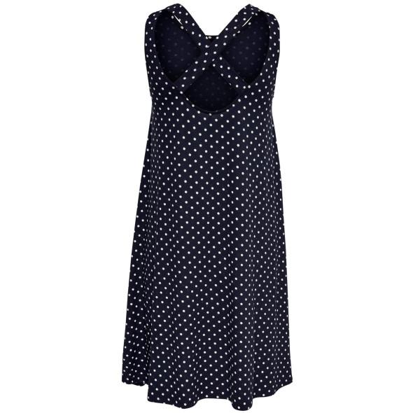 Damen Only Kleid mit raffiniertem Rückenausschnitt
