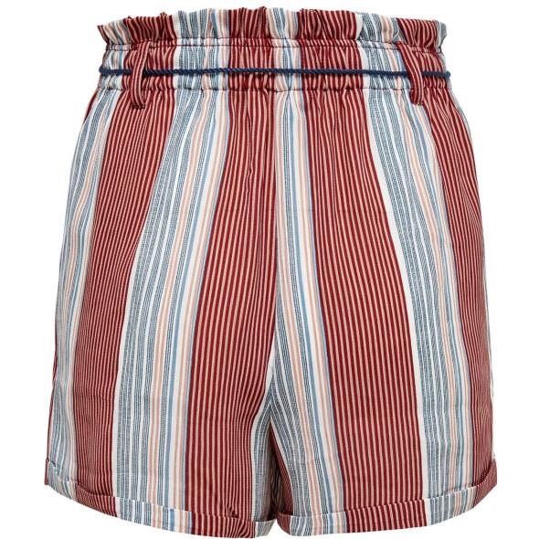 Damen Only Shorts mit Streifen