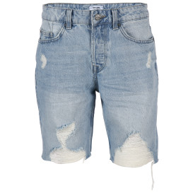 Herren Only&Sons Jeans Shorts im Destroyed Style