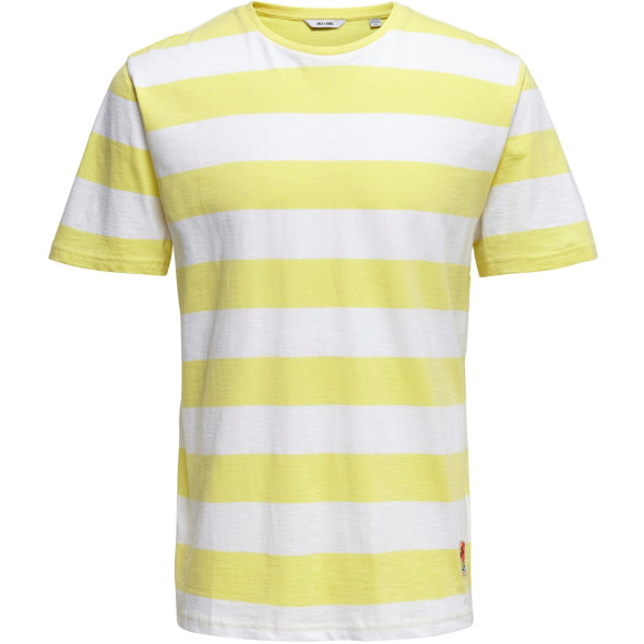Only&Sons ONSPATTERSON SS REG T T-Shirt im Streifendessin