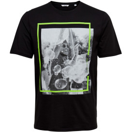 Only&Sons ONSPETAL SS FITTED TE T-Shirt mit Neon-Effekten