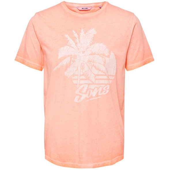 Only&Sons ONSPIMMIT SS NEON TEE mit Print