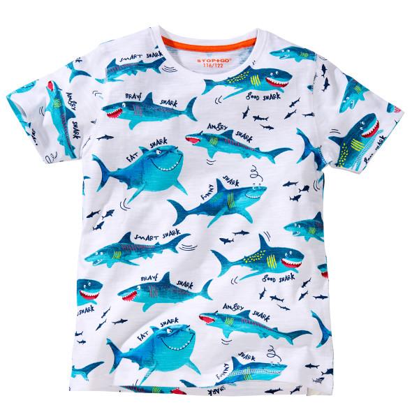 Jungen T-Shirt mit Haien