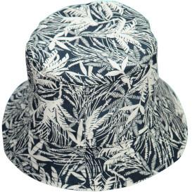 Unisex Fischer Hut im Blätterdessin
