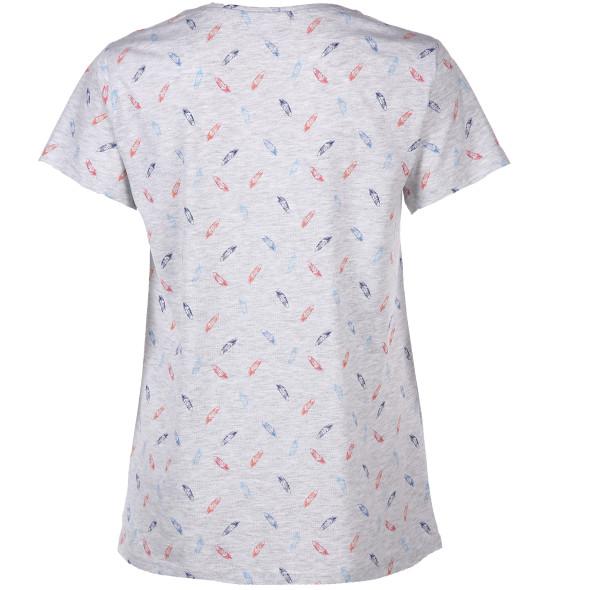 Damen Shirt mit kurzen Ärmeln