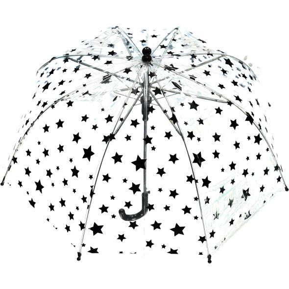 Kinder Regenschirm transparent