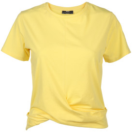Damen Shirt mit verknotetem Saum