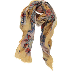 Damen Schal mit Paisley-Print