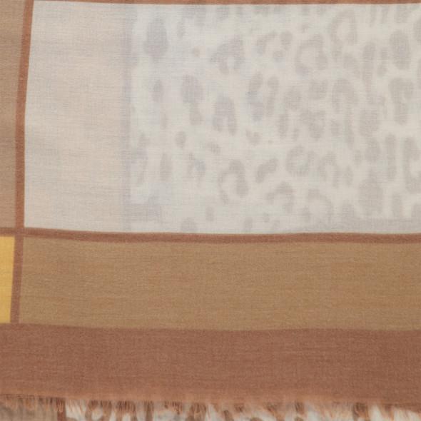 Damen Schal mit Leodruck