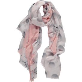 Damen Schal mit Blütenprint