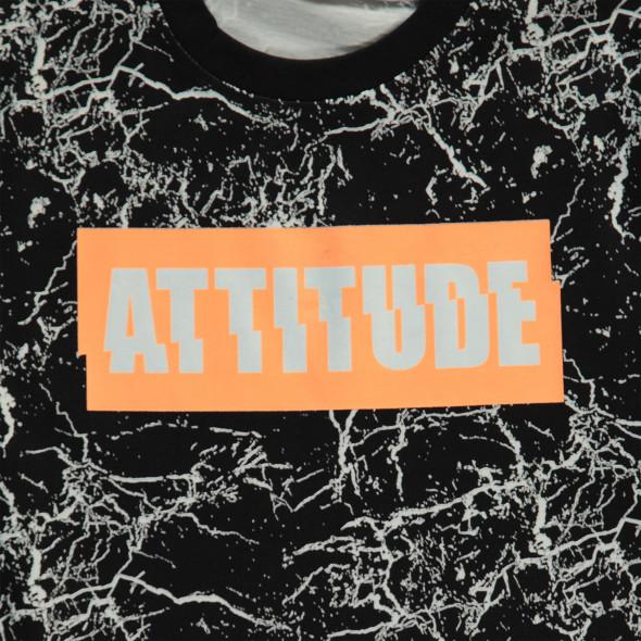 Jungen T-Shirt mit effektvollem Print