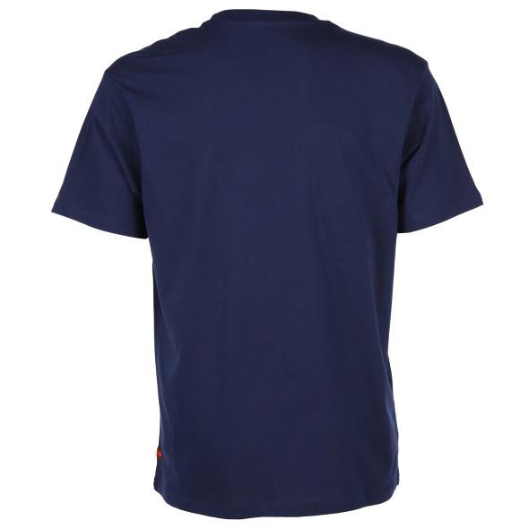 Herren T-Shirt mit Exoticmotiv und Schriftprint