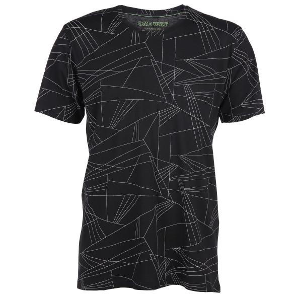 Herren T-Shirt im grafischen Print