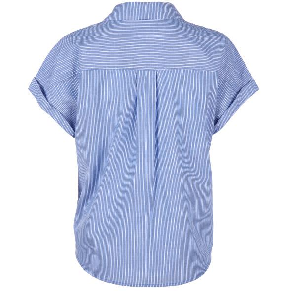 Damen Bluse mit Galonstreifen