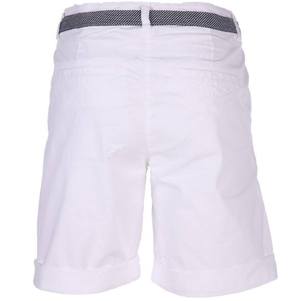 Damen Chino Bermuda mit Gürtel in Regular Waist