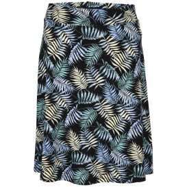 Damen Jersey Rock mit Palmenblättern