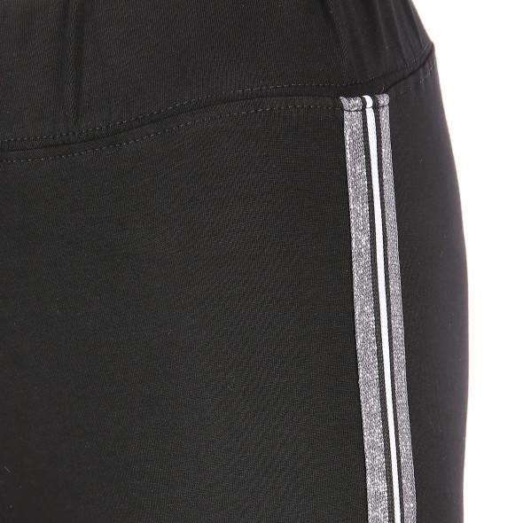 Damen Haily's Hose mit Glitzerstreifen