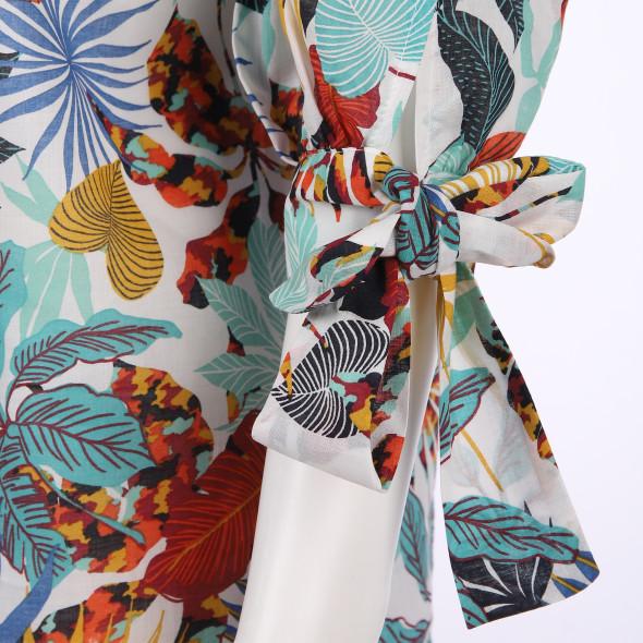Damen Bluse mit Carmen Ausschnitt