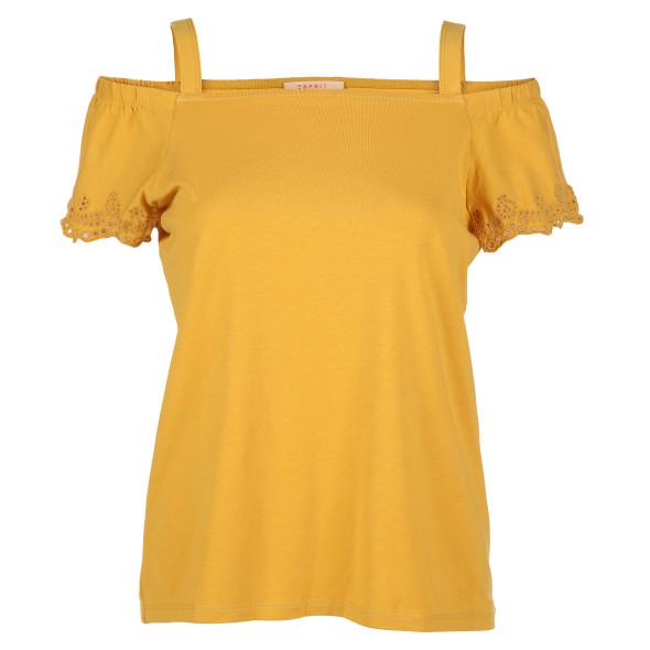 Damen Shirt mit offfener Schulter